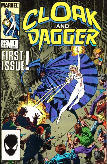 Cloak and Dagger (1985) 1-A by Marvel