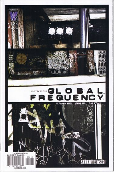 Global Frequency 12-A by WildStorm