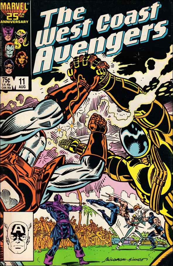 West Coast Avengers (1985) 11-A by Marvel