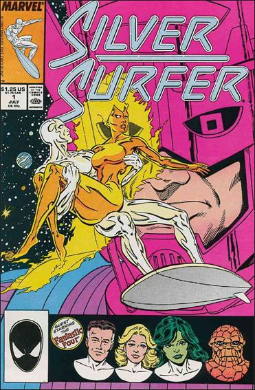 Silver Surfer (1987) 1-A by Marvel