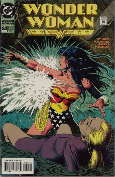 Wonder Woman (1987) 84-A by DC