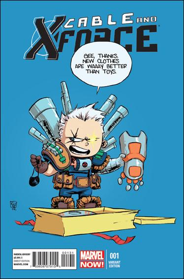 Cable and X-Force 1-F by Marvel