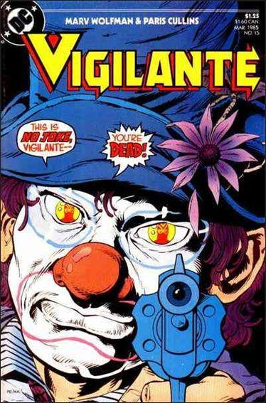 Vigilante (1983) 15-A by DC