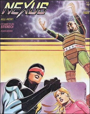Nexus (1981) 3-A by Capital Comics