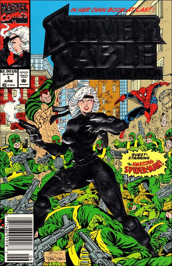 Silver Sable & The Wild Pack 1-A by Marvel