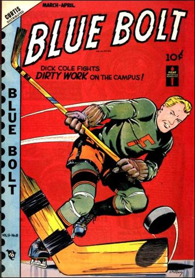 Blue Bolt (1948) 8-A by Premium