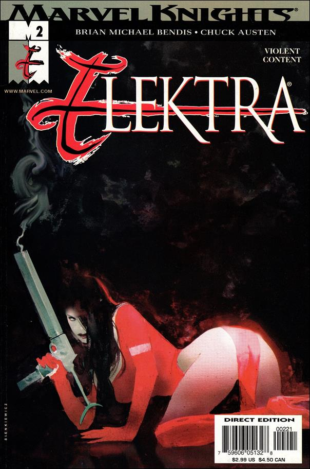 Elektra (2001) 2-B by Marvel