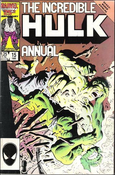 Incredible Hulk Annual  15-A by Marvel