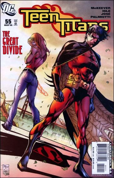 Teen Titans (2003) 55-A by DC