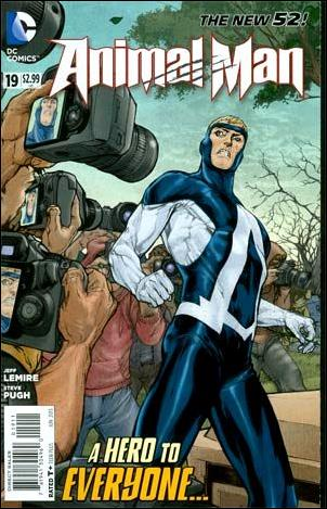 Animal Man (2011) 19-A by DC