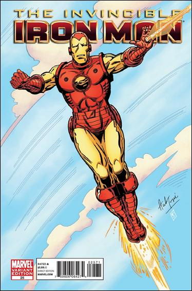 Invincible Iron Man (2008) 25-C by Marvel