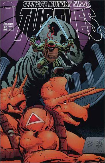 Teenage Mutant Ninja Turtles (1996) 20-A by Image