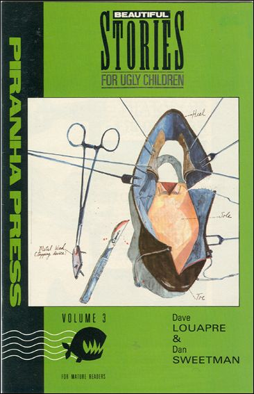 Beautiful Stories for Ugly Children 3-A by Piranha Press