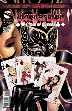 Grimm Fairy Tales Presents Wonderland: Clash of Queens 4-A