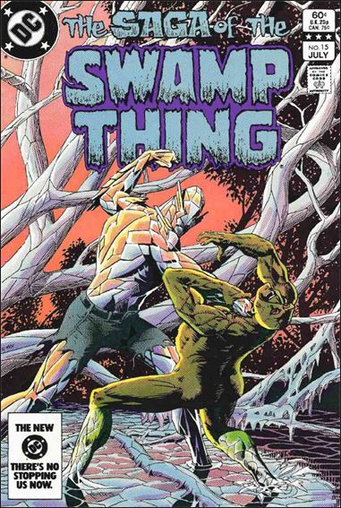 Saga of the Swamp Thing 15-A by DC