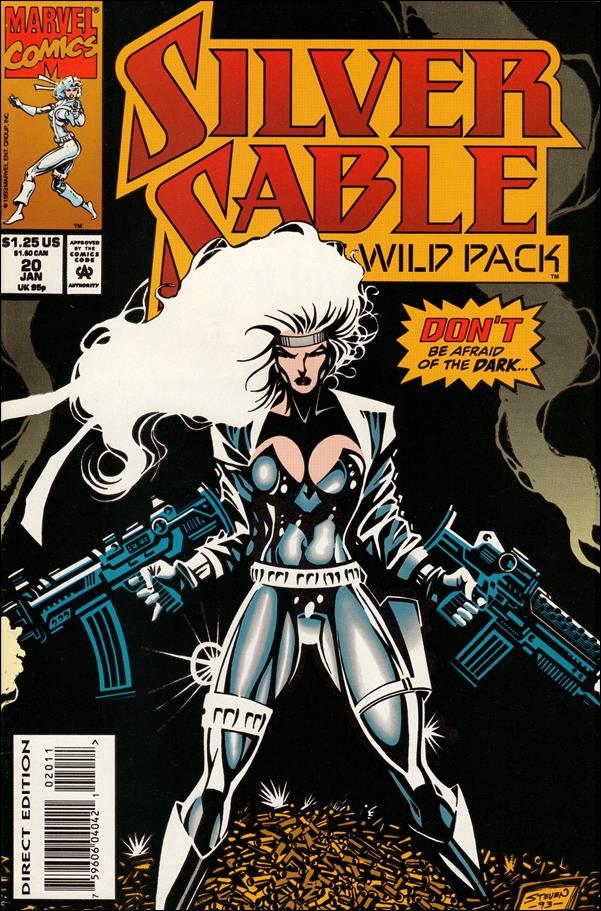 Silver Sable & The Wild Pack 20-A by Marvel