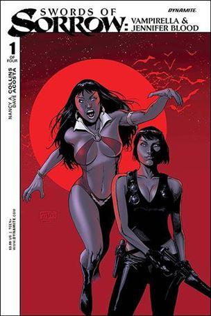 Swords of Sorrow: Vampirella & Jennifer Blood 1-A