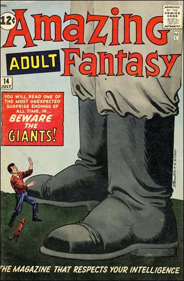 Amazing Adult Fantasy 14-A by Marvel