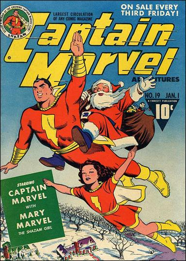 Captain Marvel Adventures 19-A by Fawcett