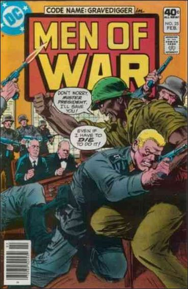 Men of War (1977) 25-A by DC