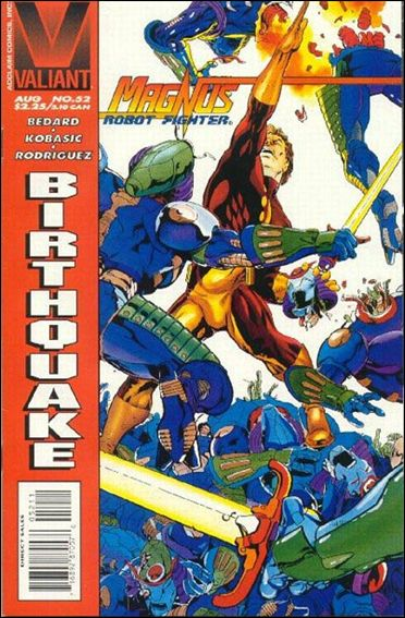 Magnus Robot Fighter (1991) 52-A by Valiant