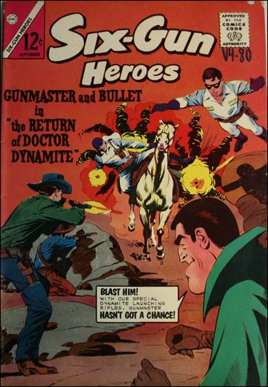 Six-Gun Heroes (1954) 80-A by Charlton