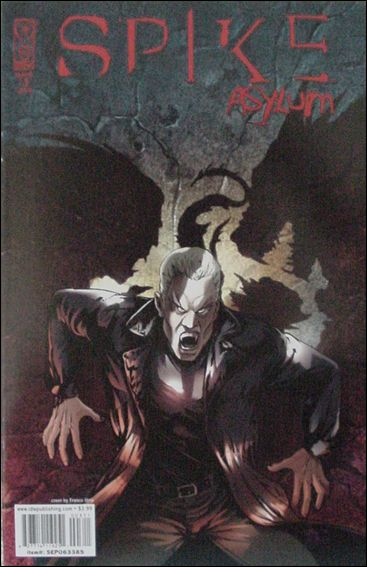 Spike: Asylum 3-A by IDW