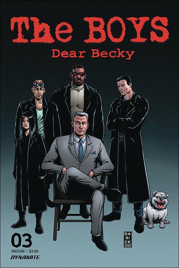 Boys: Dear Becky 3-A by Dynamite Entertainment