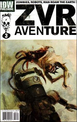 Zombies vs Robots Aventure 3-A by IDW