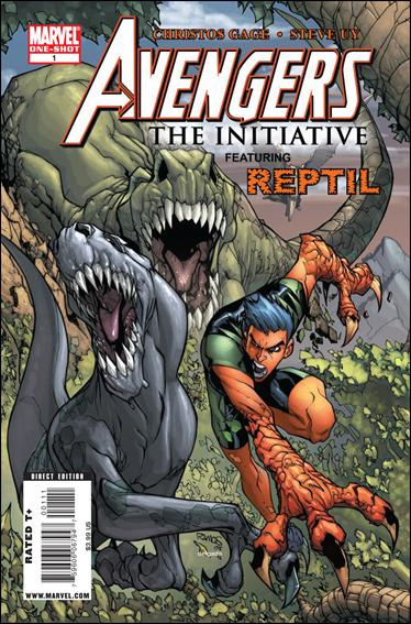 Avengers: The Initiative Featuring Reptil 1-A by Marvel