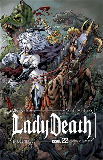 Lady Death (2010) 22-B by Boundless Comics
