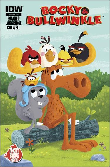 Rocky and Bullwinkle 4-B by IDW