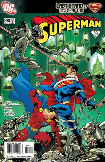 Superman (1939) 698-A by DC