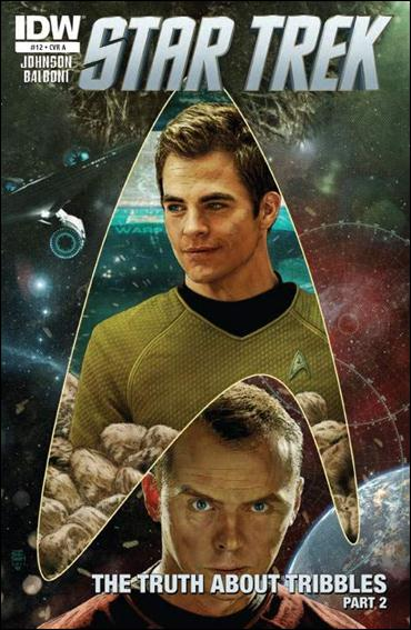 Star Trek (2011) 12-A by IDW