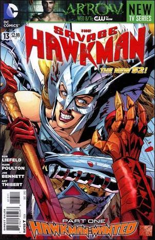 Savage Hawkman 13-A by DC