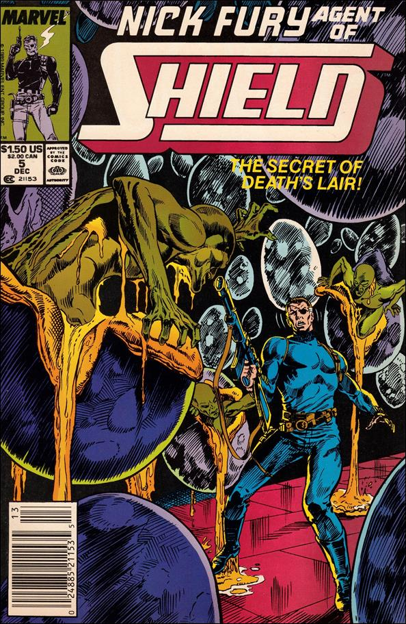 Nick Fury, Agent of S.H.I.E.L.D. (1989) 5-A by Marvel