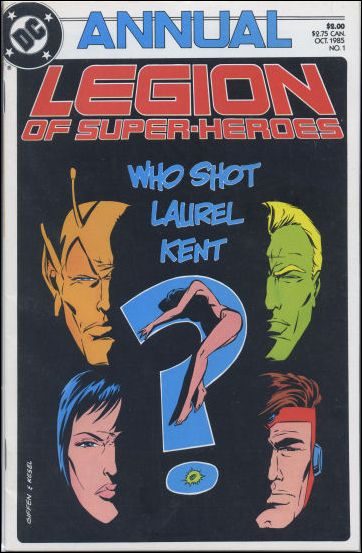 Legion of Super-Heroes Annual '1'-A by DC