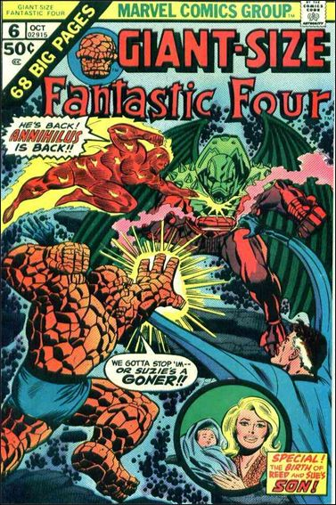 Giant-Size Fantastic Four 6-A by Marvel