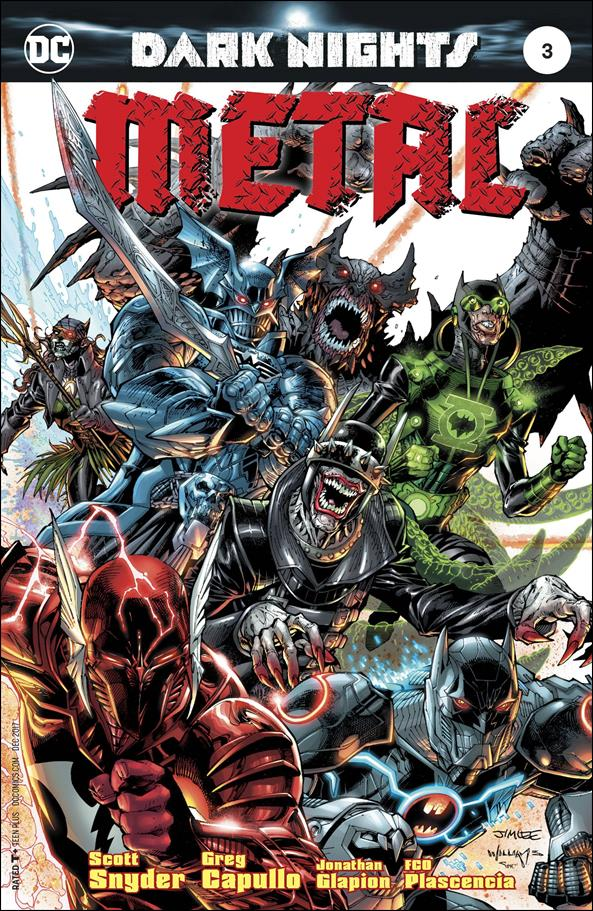 Dark Nights: Metal 3-C by DC
