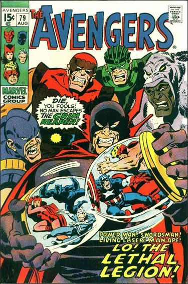 Avengers (1963) 79-A by Marvel