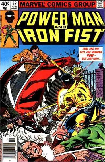 Power Man and Iron Fist (1978) 62-A by Marvel