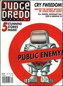 Judge Dredd Megazine (1992) 52-A by Fleetway