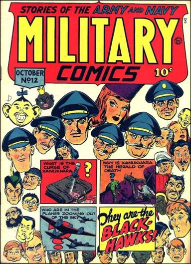 Military Comics 12-A by Comic Magazines