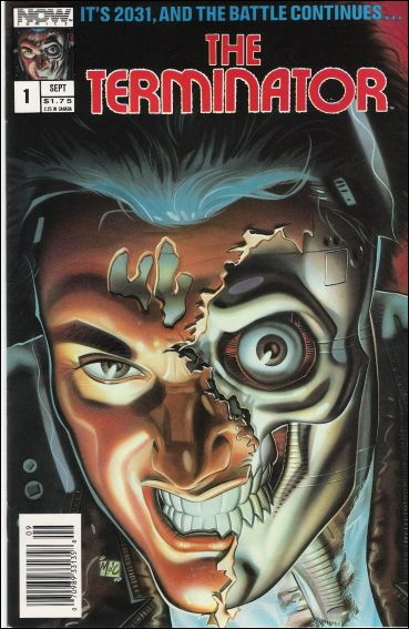 Terminator (1988) 1-A by Now Comics