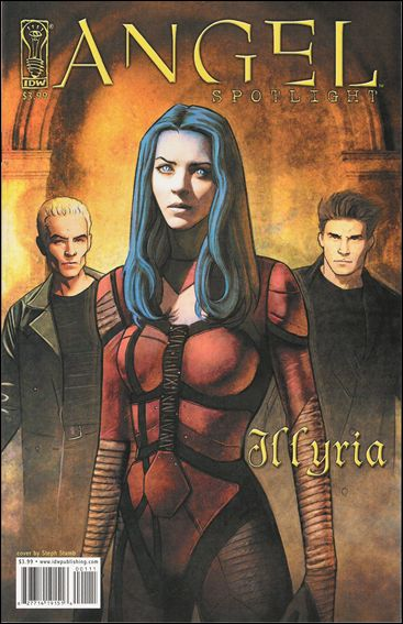 Angel Spotlight: Illyria 1-B by IDW