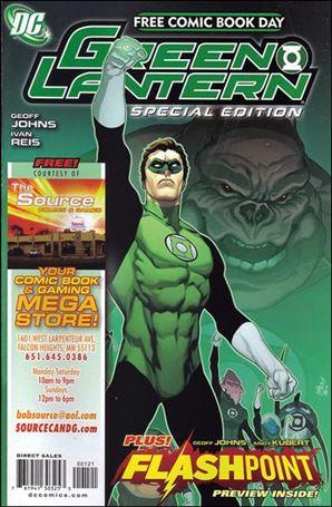 FCBD 2011 Green Lantern Flashpoint Special Edition 1-U