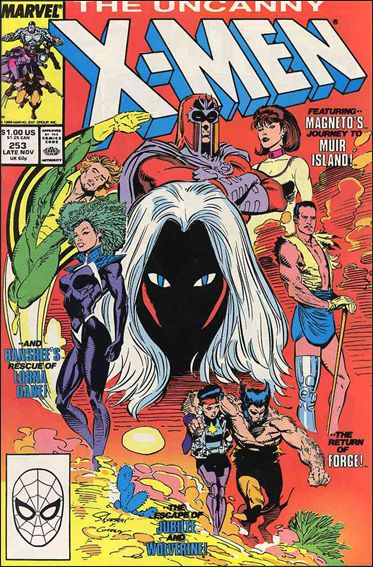 Uncanny X-Men (1981) 253-A by Marvel