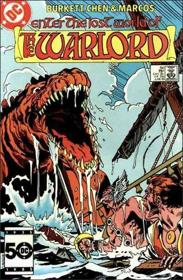 Warlord (1976) 94-A by DC