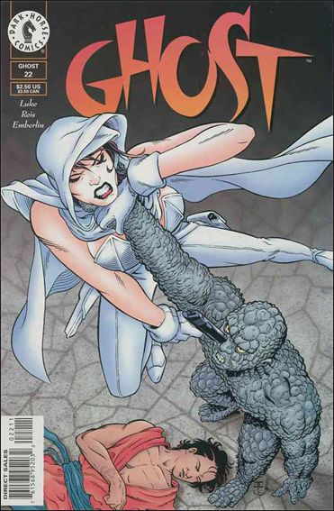 Ghost (1995) 22-A by Dark Horse