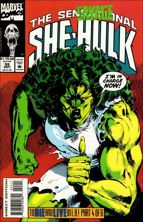 Sensational She-Hulk 55-A by Marvel